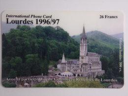 Télécarte - LOURDES 1996/97 - Edition Limitée à 500 Exemplaires - Cultural
