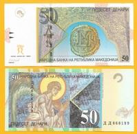 Macedonia 50 Denari P-15e 2007 UNC Banknote - Macédoine
