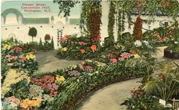 FLOWER SHOW, CONVENTION HALL, ROCHESTER, N.Y.. U.S.A. POST CARD CPA CIRCA 1920's NOT CIRCULATED - LILHU - Rochester