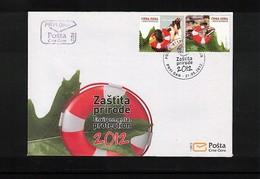 Montenegro 2012 Nature Protection FDC - Umweltschutz Und Klima