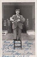 ZIRKUS CLOUWN - Orig.Fotokarte Mit Widmung 1943, Gebrauchsspuren V.Klammern - Cirque