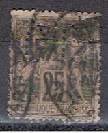 (1F 842) FRANCE // YVERT 97 TYPE SAGE  // PERFIN / PERFORE C I . // 1884-90 - Perfins