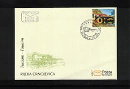 Montenegro 2017 Tourism Rijeka Crnojevica  FDC - Montenegro