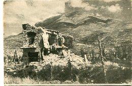 """LA CASA NEL """"FANTASMA"""" SOTTO MONTECASSINO. ITALIA POSTAL CPA CIRCA 1930's NOT CIRCULATED - LILHU - Frosinone"""