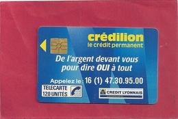 F 73 . CREDILLON . 120 U  - COTE 160 € - France
