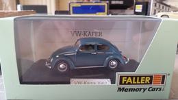 "Faller 4351 VW Käfer 1962 - Uitgegeven In De ""memory Car Series"" (grijs Blauw) MIB - Cars & 4-wheels"
