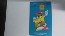 Indonesia-kartu Telepon-(200units)-(00290331)-used Card+1card Prepiad Free - Indonesia