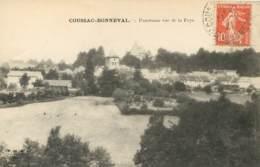 87 - HAUTE VIENNE - COUSSAC BONNEVAL - CHATEAU - PANORAMA  Vue De La Faye    (scan Recto-verso) FRCR00059 P - Other Municipalities