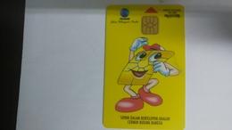 Indonesia-kartu Telepon-(100units)-(00253237)-used Card+1card Prepiad Free - Indonesia