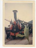 Train Vapeur  Couleur 1966 Fête Des Mousseline Centenaire VIADUC Pontcharra Tarare - Trains