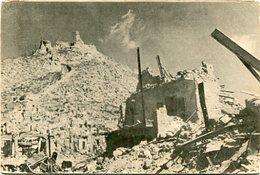 LE ROVINE DI MONTECASSINO (MAGGIO 1944). ITALIA POSTAL CPA NOT CIRCULATED - LILHU - Frosinone