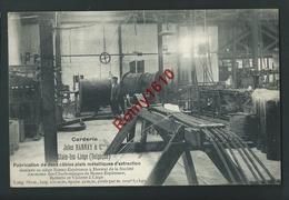 Glain-lez-Liège - Corderie Jules Hannay. Fabrication De 2 Câbles Plats Métalliques D'extraction. Charbonnage. 2 Scans - Liege