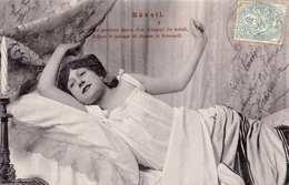 Erotik Hübsche Junge Frau Im Neglischee - Reveil 1905? - Frauen