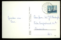 BRIEFKAART Uit 1963 * GELOPEN Van MAKKUM Naar AMSTERDAM  (11.560i) - Period 1949-1980 (Juliana)