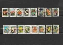 Lot De 32 Timbres Petits Formats Les Fleurs - Umm Al Qiwain- Année 1972  Mi 1050 à 1065 Et 1450 à 1465 - Umm Al-Qiwain