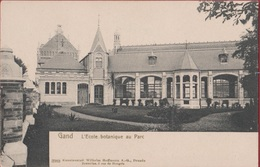 Gent Gand L' école Botanique Au Parc  (En Très Bon Etat) (In Zeer Goede Staat) Hoffmann Dresden Botanische Tuin - Gent