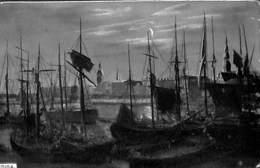 Riga - Harbor Port Ships... 1905 Verlag H C Schneider Riga - Lettonie