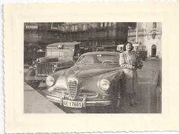 BELLE AUTOMOBILE EN SUISSE   ANNEES 1950 - Coches