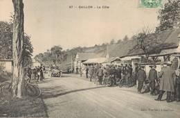 Cpa 27 Gaillon La Côte Auto Voitures Course Automobile - France