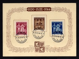 17702-GERMAN EMPIRE-.MILITARY PROPAGANDA CARD Bohemia & Moravia.PRAG.1944.WWII.DEUTSCHES REICH.Postkarte.Carte Postale - Covers & Documents