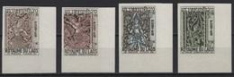 Laos (1967) Yv. 149/52 - IMPERFORATE  /  Religion - Art - Buddhism - Buddhismus