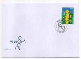 Liechtenstein  -- 2000 -- FDC -- EUROPA  2000   --cachet  VADUZ - FDC