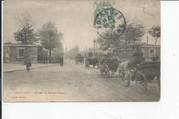 PARIS     PORTE  DE SAINT OUEN  1907 - France