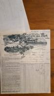 FACTURE ET LETTRE DE CHANGE 1930  LAITERIE DES FAYT A FAYT - 1900 – 1949