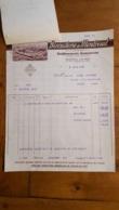 FACTURE ET LETTRE DE CHANGE 1930 BISCUITERIE DE MONTREUIL ETS DAMOISEAU - 1900 – 1949