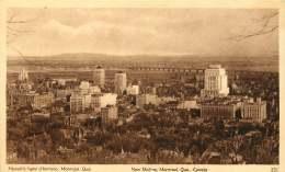 Sepia Illustrated Postcard    New Skyline, Montreal Que  #251   Unused - 1903-1954 Reyes