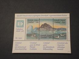 GROENLANDIA - BF 1987 PAESAGGIO - NUOVI(++) - Blocchi