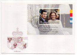 Liechtenstein  -- 1993 -- FDC -- Alois Von Lichtenstein Sophie In Bayern    --cachet  VADUZ - FDC
