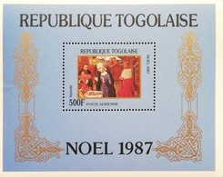 TOGO  1987 Christmas S/S - Togo (1960-...)