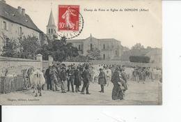 DONJON   Champ De Foire 1906 - France