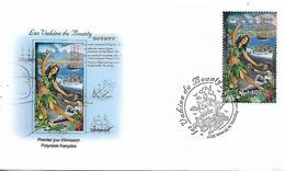 """POLYNESIA FRENCH - POLYNESIE FRANCAIS 2017 """"The Bounty Vahines"""" FDC UNUSED - French Polynesia"""