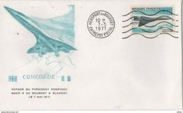 Voyage Du Président Pompidou Mach 2 Bourget à Blagnac...7 Mai 1971... - Concorde