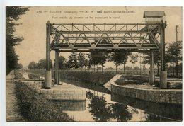 Saint Capraise De Lalinde Tuilière Pont Mobile Du Chemin De Fer - France