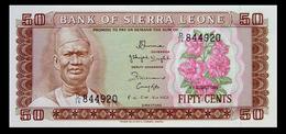 # # # Banknote Aus Sierra Leone 50 Cents UNC # # # - Sierra Leona