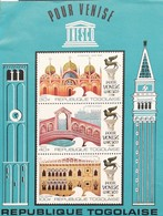 TOGO  1972  UNESCO Campaign To Save Venice  S/S - Togo (1960-...)