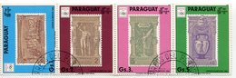 OLYMPIC GAMES BARCELONA '92 - ATENAS '96. PARAGUAY YVERT 2490 / 2493 YEAR 1990 SERIE OBLITERES LILHU - Summer 1896: Athens
