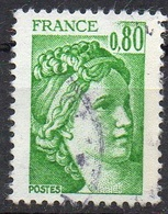 FRANCE N° 1970 O Y&T 1977-1978 Sabine - 1977-81 Sabine Of Gandon