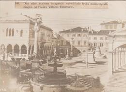 Foto Udine - Eröffnung Der Neuen Deutschen Militärverwaltung - Pressefoto - 1. WK - 16*12 Cm (41489) - Oorlog, Militair