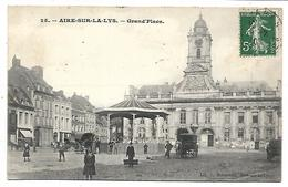 AIRE SUR LA LYS - Grand'Place - Aire Sur La Lys