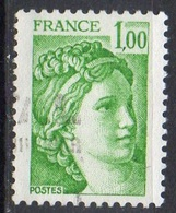 FRANCE N° 1973 O Y&T 1977-1978 Sabine - 1977-81 Sabine Of Gandon