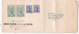 ADOLFO PLATNER & NA- ENVELOPPE URUGUAY TO USA CIRCA 1960s - BLEUP - Uruguay