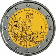 Estland ESTONIA 2 EURO Münzen Liedfest Song Festival Coin 2019 In Stock - Estland