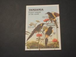 TANZANIA -  BF 1990 UCCELLI - NUOVO(++) - Tanzania (1964-...)