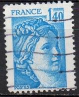 FRANCE N° 1975 O Y&T 1977-1978 Sabine - 1977-81 Sabine Of Gandon