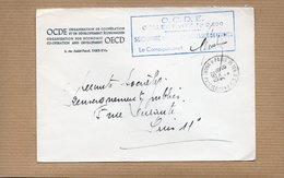 LSC 1970 - Cachet  Paris 16ter O.C.D.E. & Griffe O.C.D.E. - Manual Postmarks