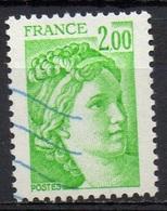 FRANCE N° 1977 O Y&T 1977-1978 Sabine - 1977-81 Sabine Of Gandon